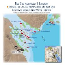 Map Of The Red Sea Aggressor Fleet Official Site Liveaboard Scuba Dive Yacht Trips