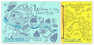 Map Wedding Invitations Designer Wedding Maps U0026 More