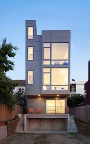 narrow modern homes gallery of 18th ave city homes malboeuf bowie architecture 1