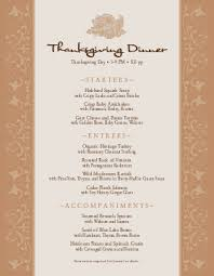 thanksgiving dinner menu templates musthavemenus 38 found