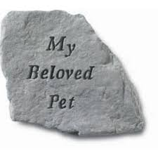garden memorial stones pet memorial garden stones my beloved pet grave marker