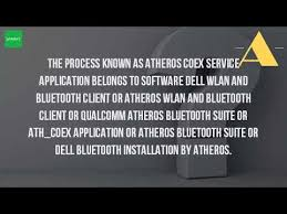 Toaster Exe Application Error What Is Atheros Coex Service Application Youtube