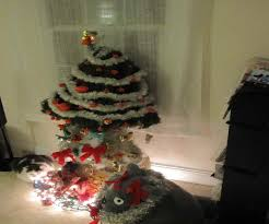 flocked christmas tree best images collections hd for gadget