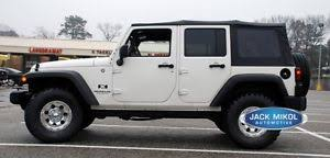 white jeep rubicon jeep wrangler unlimited soft top ebay
