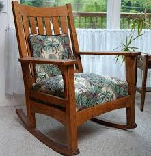 Rocking Chair Antique Styles Mission Style Rocking Chair Antique L J G Mission Style Oak