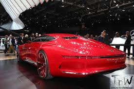 maybach mercedes coupe paris motor show vision mercedes maybach 6 luxury class coupé
