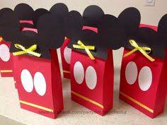 mickey mouse favor bags pin by camila galindo on festa disney