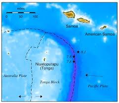 American Samoan Flag Triple Whammy Triggered Samoa Tsunami Update 2