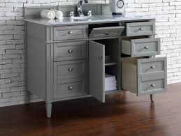 42 Inch Bathroom Vanity Without Top by Bathroom 42 White Vanity Without Top Globorank Pertaining To