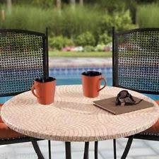 Zippered Patio Table Covers Vinyl Fitted Patio Tablecloths Ebay