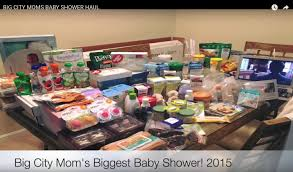 big city moms baby shower haul youtube