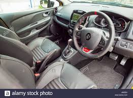 hong kong china may 9 2017 renault clio rs 2017 interior may 9