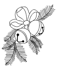 free coloring pages for christmas bells christmas coloring pages