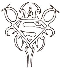 superman coloring pages print cool logo creativemove