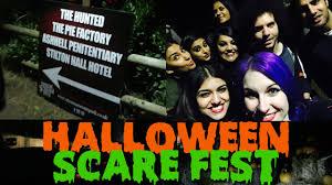 twin lakes scare fest halloween vlog youtube