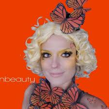 Effie Halloween Costume Hunger Games Effie Trinket Makeup Mary Preen