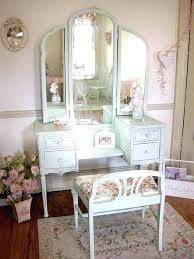Table Vanity Mirror Vanity Makeup Table Set Glass Top Makeup Vanity Table Cut Glass