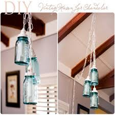 Diy Vintage Chandelier Diy Beautiful Mason Jars Home Décor Ideas Recycled Things