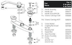 kohler kitchen faucet parts kohler kitchen faucet parts list davidarner com