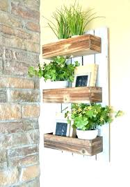 planters that hang on the wall wall planters indoor wooden wall planters appealing wall planter