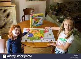 The Map Of Spain by Children U0027s Jig Saw Of The Map Of Spain Stock Photo Royalty Free