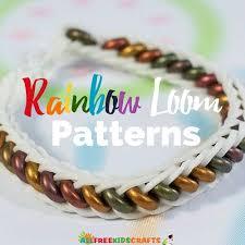 bracelet looms images Rainbow loom patterns jpg