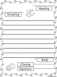 friendly letter template best 25 friendly letter ideas on