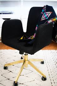 Diy Desk Chair Ikea Office Chair Hack Hither Thither