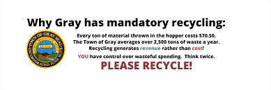 recycling u0026 solid waste gray me