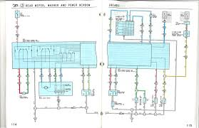 toyota power window wiring diagram toyota wiring diagrams collection