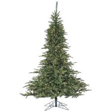 7 5 ft pre lit led noble fir artificial tree
