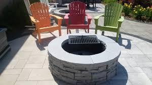 new for 2015 the rivercrest fire pit kit has an outside diameter