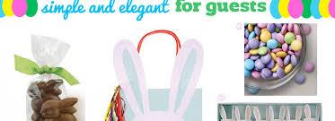 Gift Ideas For Easter Elegant Easter Gift Bag Ideas For Guests