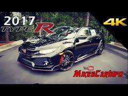 honda civic r 2017 honda civic type r in depth look in 4k