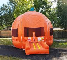 bounce house rentals houston pumpkin bounce house moonwalk rental houston sky high party rentals