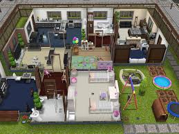 the sims freeplay player designed house youtube