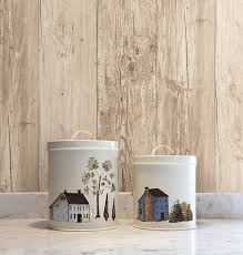 Wood Peel And Stick Wallpaper by Wall In A Box Wib1009 Simple Life Wallpaper Burgundy Blue White