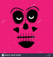 pink halloween background free happy halloween background with pumpkins vector stock photo