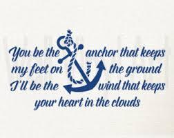 wedding quotes nautical nautical sayings etsy