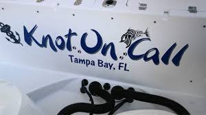 boat name design install tampa clearwater st petersburg pinellas