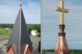 Roof Finials Spires by Most Holy Trinity Church