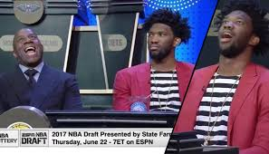 Nba Draft Memes - joel embiid s funniest moments at the 2017 nba draft lottery