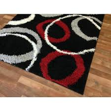 Purple And Grey Area Rugs Awesome Rugs Black And Red Area Rugs Whrktj In Red Black And Gray