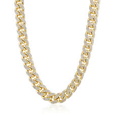 cuban link necklace images 14k yellow gold 26ct diamond cuban link chain 36in shyne jewelers jpg