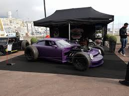 purple porsche 944 purple porsche 964 rat rod by danton arts kustom