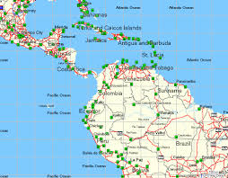Map De Central America by Tramsoft Gmbh Garmin Mapsource World English