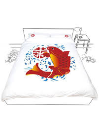 Fish Duvet Cover Doovay Lucky Fish Double Duvet Cover U2013 Studio One Hundred