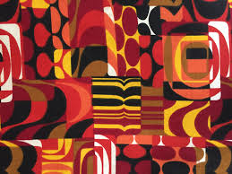 70s Decor by Mod 70s Psychedelic Masterpiece In A Kaleidoscope Of Color