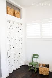 Closet Curtains Instead Of Doors Vintage Green Boy Room Makeover Stacy Risenmay