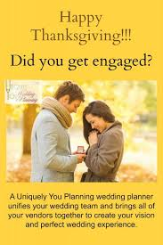 thanksgiving engagement uniquely you planning
